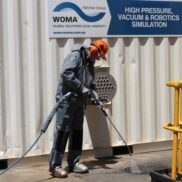 High pressure water jetting training for class A machines